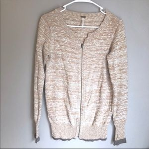 Free People - Full Zip Varsity Sweater